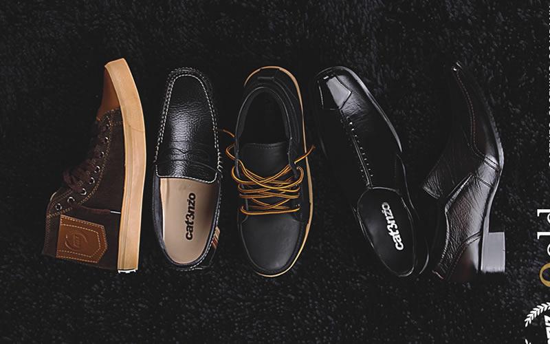 Model Sepatu Kulit Pria Catenzo Cibaduyut