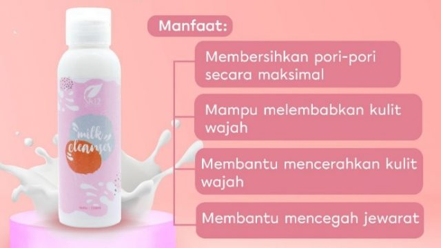 Milk Cleanser SR12 Skincare