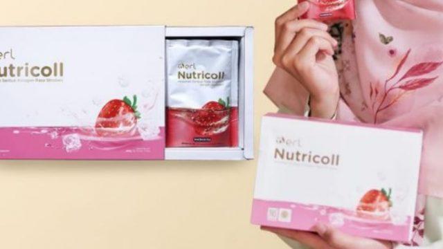 b erl Nutricoll minuman collagen