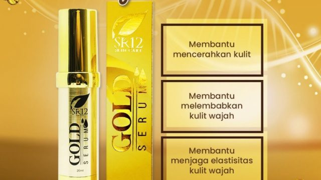 serum gold sr12 skincare